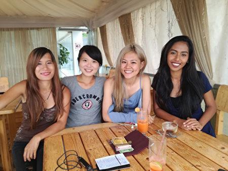 台湾女孩人美心美 远赴东非乌干达扶贫行善