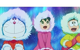 场景移自南极 《哆啦A梦》全新电影八月登台