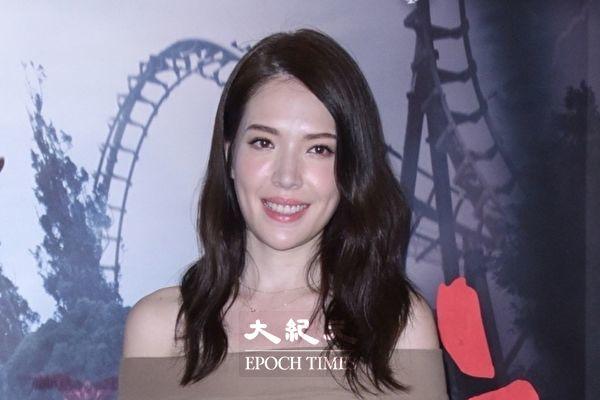 電影《紅衣小女孩2》於2017年7月16日在台北舉行正式預告發布會。圖為演員許瑋甯。(黃宗茂/大紀元)