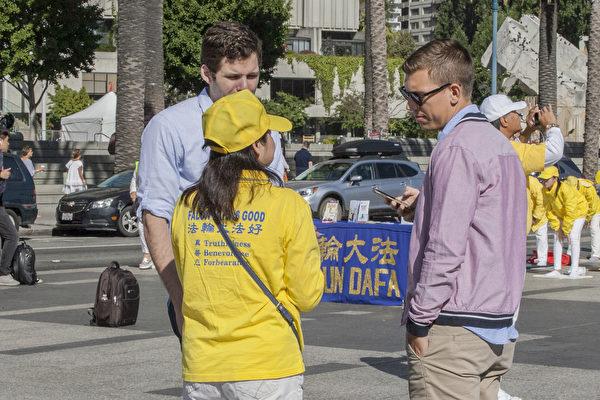 正信不动唤良知 法轮功学员720旧金山游行反迫害