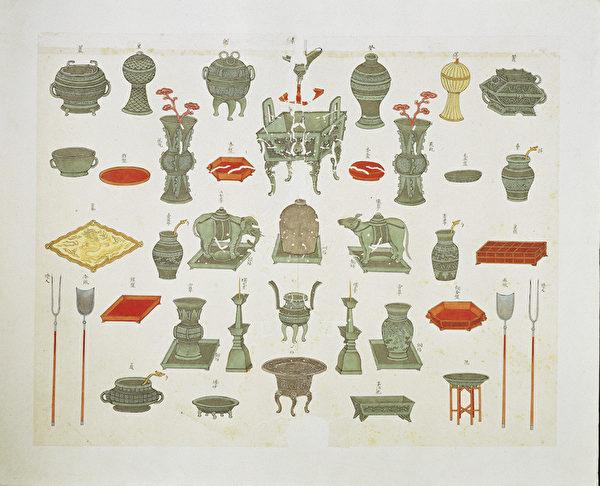 組圖:台故宮特展「書畫中的孔子」