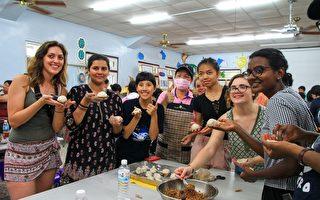 实践走动式华语教学 13国外籍生农村体验
