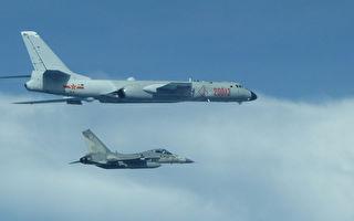 中共戰機飛越巴士海峽 台國防部證實4架繞台