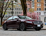 2017 Lincolin Continental。〈李奧/大紀元〉