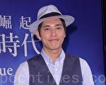 蓝正龙于7月24日在台北出席代言活动。(黄宗茂/大纪元)