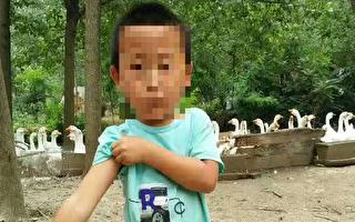天津4歲男童因感冒到天津醫科大學第二附屬醫院輸液死亡,事後患者家屬向院方討說法無果。(張俊超提供)