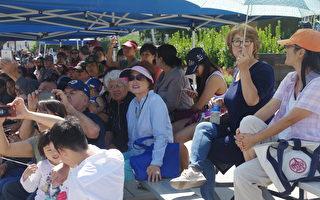 组图:看一看洛杉矶华人区的国庆游行