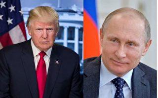美國總統川普(特朗普)上任後和俄羅斯總統普京的首次會面,預定週五(7月7日)登場,備受全球矚目。(大紀元合成圖)