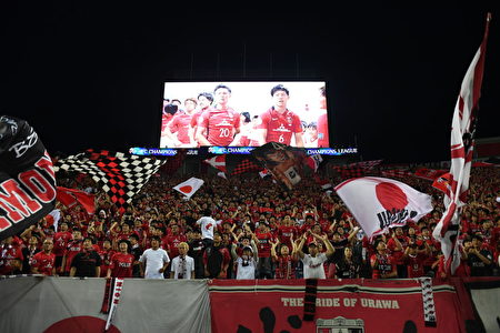 老牌豪門浦和紅鑽是J聯賽最有號召力的球隊,球迷人數最多。(Photo by Masashi Hara/Getty Images)