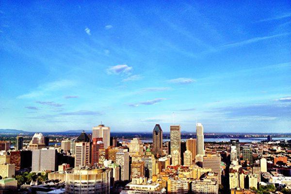 加拿大魁北克省最大城市蒙特婁。(天慧移民提供)