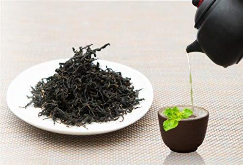 枸杞葉養生茶。(元音農場提供)