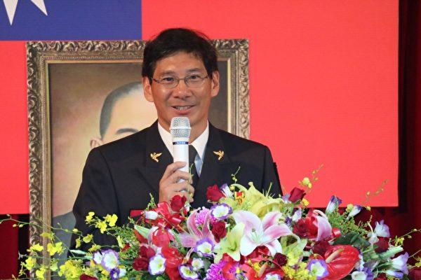 基隆市消防局副局長陳龍輝接任局長。(基隆市政府提供)