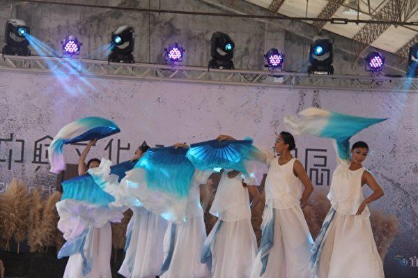 兰阳舞蹈团表演鬼芒。(郭千华/大纪元)