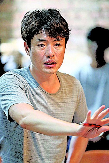 《军舰岛》的导演柳承莞。(新唐人韩流世界)