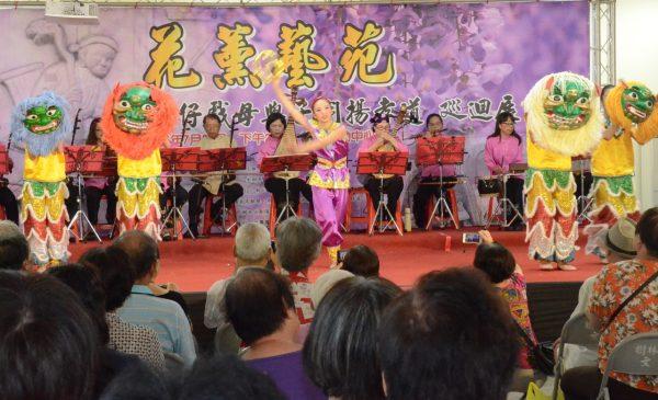 悅舞舞團的精彩演出。(宋順澈/大紀元)