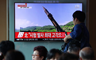 阿拉斯加人似乎並不擔憂朝核威脅,該州最大城市安克拉治的市長表示,他最擔心的是駝鹿,而非導彈。圖為朝鮮週二(4日)試射一枚洲際彈道導彈(ICBM)。 (Photo by Chung Sung-Jun/Getty Images)