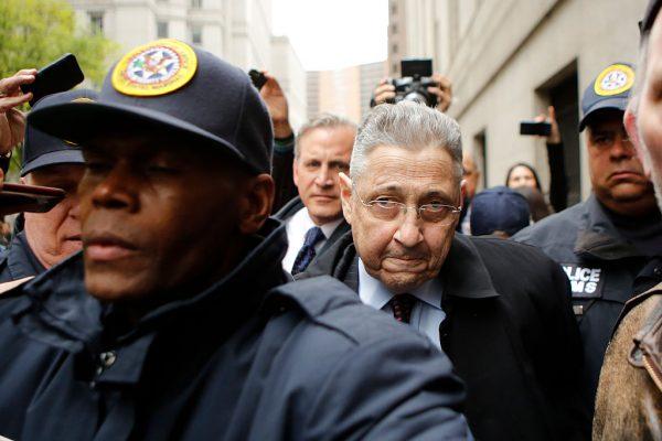 纽约州前民主党众议院议长萧华的7项腐败罪名被撤销。 (Eduardo Munoz Alvarez/Getty Images)