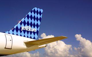 一個布碌崙五口之家最近差點被捷藍航空從飛機上攆下來。 (Joe Raedle/Getty Images)