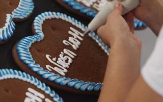 糖霜饼干。 (Alexandra Beier/Getty Images)