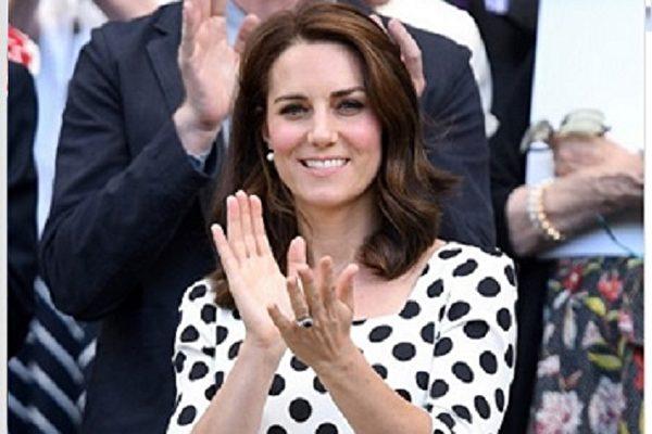 凯特王妃换新发型 清新活泼风格获好评