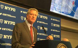 白思豪決定讓市政承擔200萬美元調查律師費用受到對手抨擊。 (施萍/大紀元)