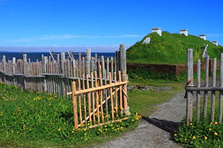 兰塞奥兹草甸有着北美唯一的维京人村落遗迹。(Fotolia)