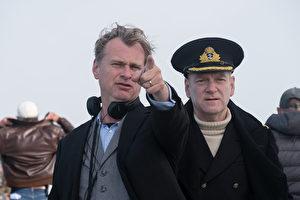 国际名导克里斯多福‧诺兰掌镜《敦克尔克》,重现二战关键撤退战役。(华纳兄弟提供)