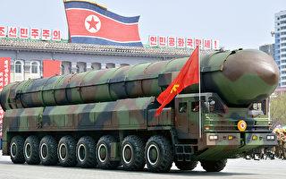 7月4日,朝鮮稱首次成功發射洲際彈道導彈(ICBM)。(Kyodo News via Getty Images)