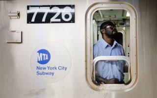 運輸工人工會的一名高級成員近期呼籲,希望紐約地鐵的工作人員暫時不要去上班。 (Spencer Platt/Getty Images)