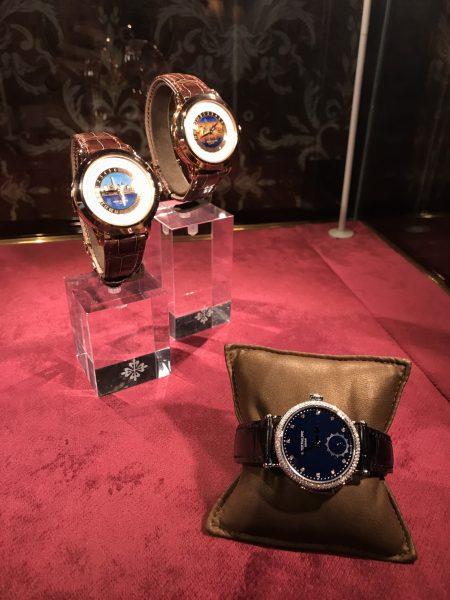 左上兩隻錶是全球限量五隻的2017男士錶。