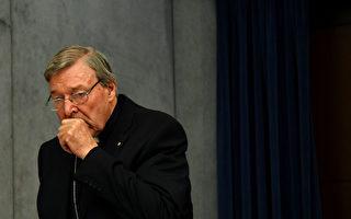 天主教主教George Pell將被要求從前門進入法庭,被安保人員檢查。(ALBERTO PIZZOLI/Getty Images)