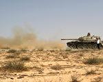 IS在2015年霸占了利比亞的蘇爾特後,將這個城市作為基地,對油田和其它附近城鎮發動襲擊。去年12月,利比亞部隊在蘇爾特擊敗了IS。 (Photo credit should read MAHMUD TURKIA/AFP/Getty Images)