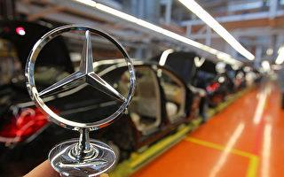 在大众之后,德国的另一家汽车名牌企业奔驰也深陷尾气门。(Thomas Niedermueller/Getty Images)