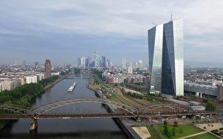 很多中國買家選擇在柏林和法蘭克福買房子。圖為法蘭克福市區。(Sean Gallup/Getty Images)