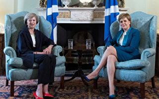 """""""有事跟我手下谈"""" 梅不再独见苏格兰领袖"""