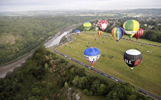 云中漫步 德国绮丽的热气球之旅