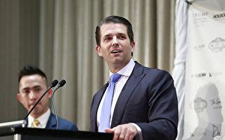 川普(特朗普)長子近日被爆去年與俄羅斯籍律師會面,再陷通俄門風波。法學專家表示媒體報導的「共謀」指控在法律上不成立。(Jeff Vinnick/Getty Images)