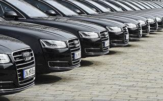 奧迪將召回85萬輛柴油車,改善發動機的廢氣排放。  (CHRISTOF STACHE/AFP/Getty Images)