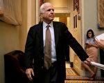 美国联邦参议员约翰·麦凯恩被诊断患了脑瘤。 (Chip Somodevilla/Getty Images)