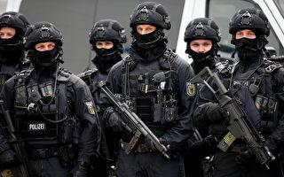 G20峰會舉行在即,漢堡警方嚴陣以待。(Pool/Auswahl/Getty Images)
