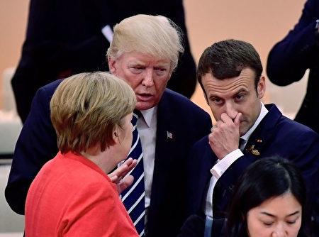 各國領導人在G20會議上。( Thomas Lohnes/Getty Images)