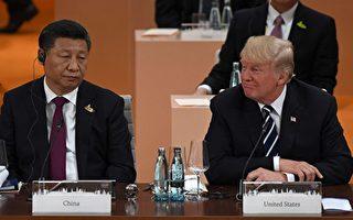 習近平與美國總統川普在G20峰會最後一天,舉行雙邊會晤,共同探討了一些「最尖銳的問題」,其中包括朝鮮問題。川普普對習近平聲明,必須解決朝鮮問題,不管用什麼手段。(PATRIK STOLLARZ/AFP/Getty Images)