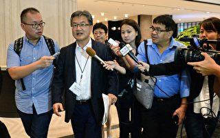 尹汝尚的第一站是來到「東北亞合作對話」(NEACD)。 (ROSLAN RAHMAN/AFP/Getty Images)