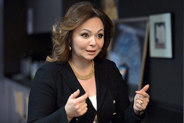 被爆去年6月与美国总统川普(特朗普)长子会面的俄罗斯律师维塞尼茨卡雅(Natalia Veselnitskaya),曾在签证被拒后,获得奥巴马政府给予进入美国短暂停留的特别许可(parole,亦称为假释)。(YURY MARTYANOV/AFP/Getty Images)