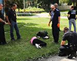美国司法部长塞申斯周一(7月17日)说,司法部将让地方执法人员今后更容易没收犯罪嫌疑人的现金和财产,以及收回赃款。 ( Spencer Platt/Getty Images)