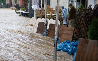 德國大面積持續降雨 中部災情嚴重