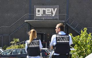 德國警方說,德國南部康斯坦茨市(Konstanz)的Grey夜總會,週日(7月30日)凌晨4點30分左右驚傳槍聲,導致2人死亡,至少4人受傷。(Photo credit should read THOMAS KIENZLE/AFP/Getty Images)