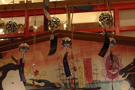 日本各式風鈴。(盧勇/大紀元)