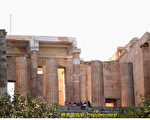 雅典衛城Propylaea。(行雲提供)
