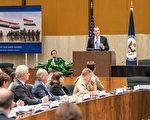 7月13日,美国国务院内召开的打击伊斯兰国行动全球联盟小组会议上,美国总统特使麦吉尔克表示,打击ISIS已经取得了里程碑式的重大进展。(石青云/大纪元)